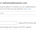 Always Use HTTPS Page Rule
