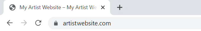 Artist-Website-SSL