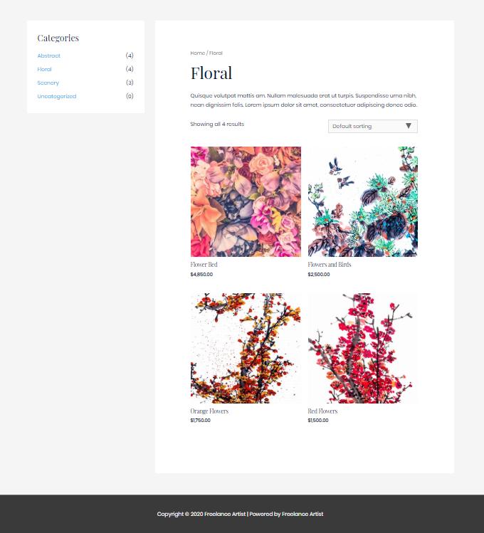Artist-Work-Page