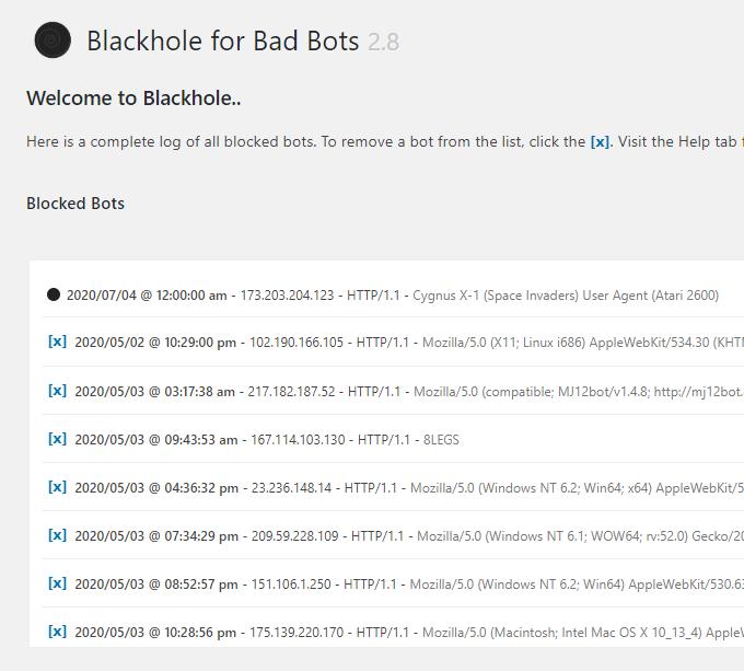 Blackhole-Blocked-Bots