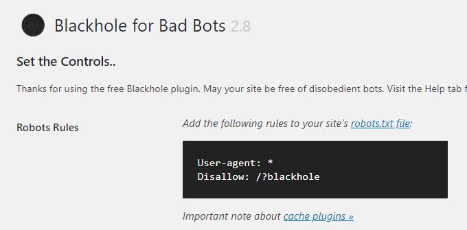 Blackhole-Robots-Rules