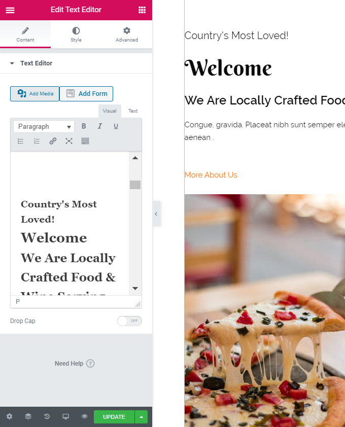 Edit-Restaurant-Homepage