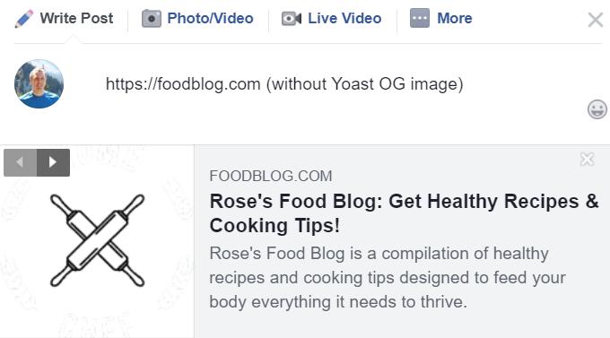 Food-Blog-Sharing-Before