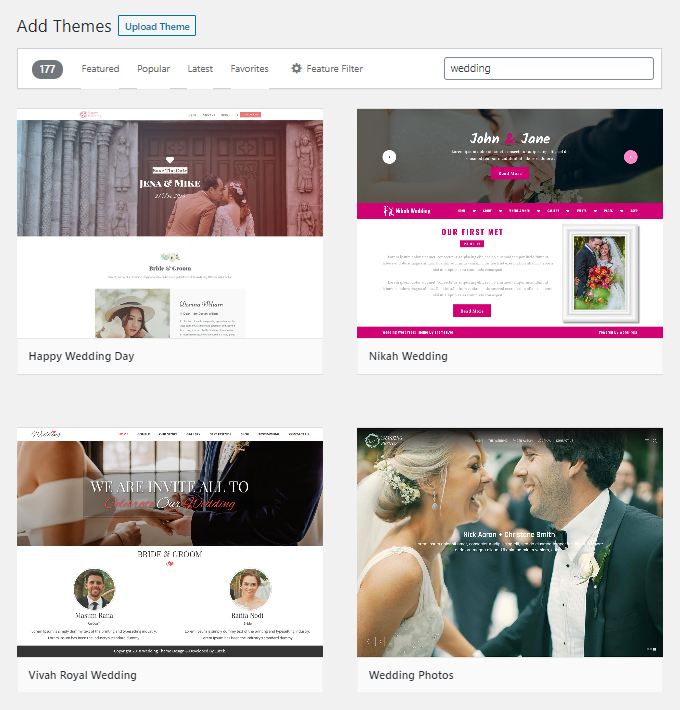 Free-Wedding-WordPress-Themes