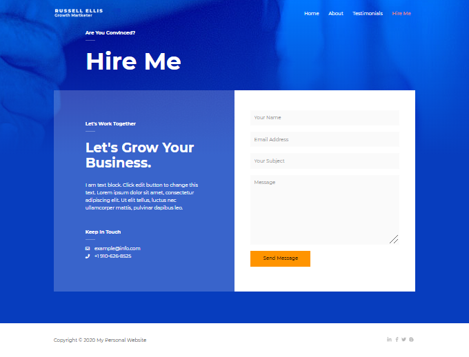 Hire-Me-Page
