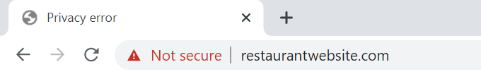 Insecure-Restaurant-Website