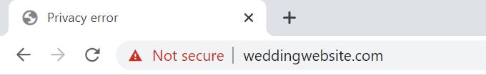 Insecure-Wedding-Website