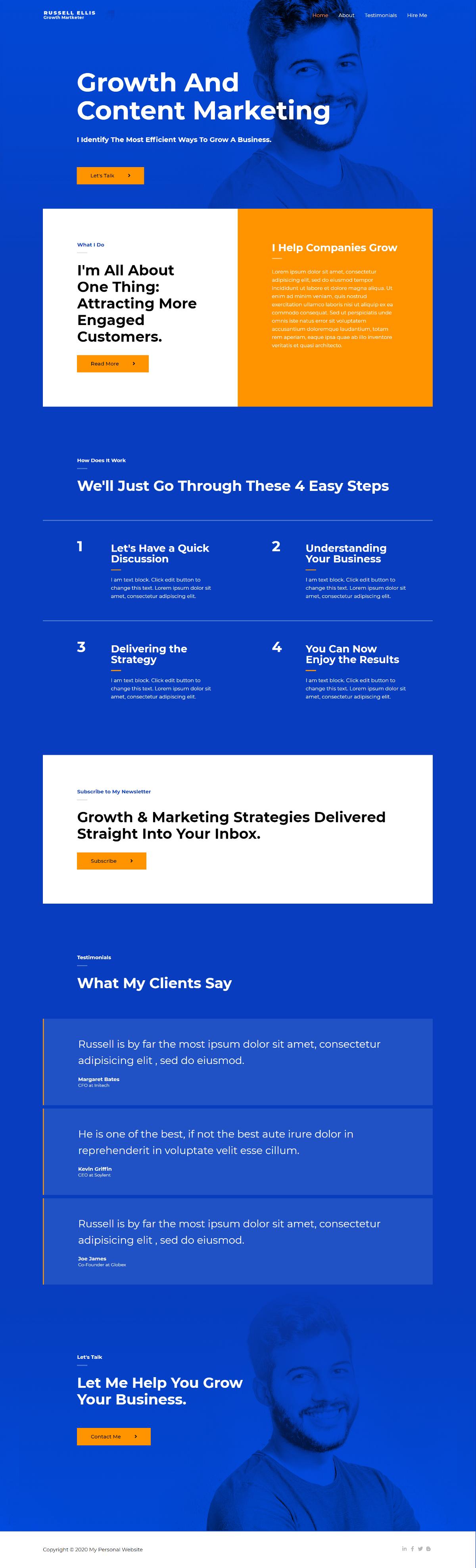 Personal-Website-Homepage