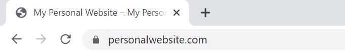 Personal-Website-SSL