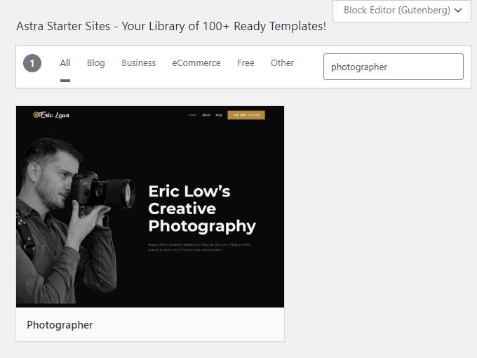 Photographer-Theme-Search