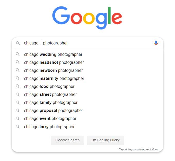 Photography-Keywords