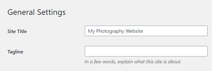Photography-WordPress-Title