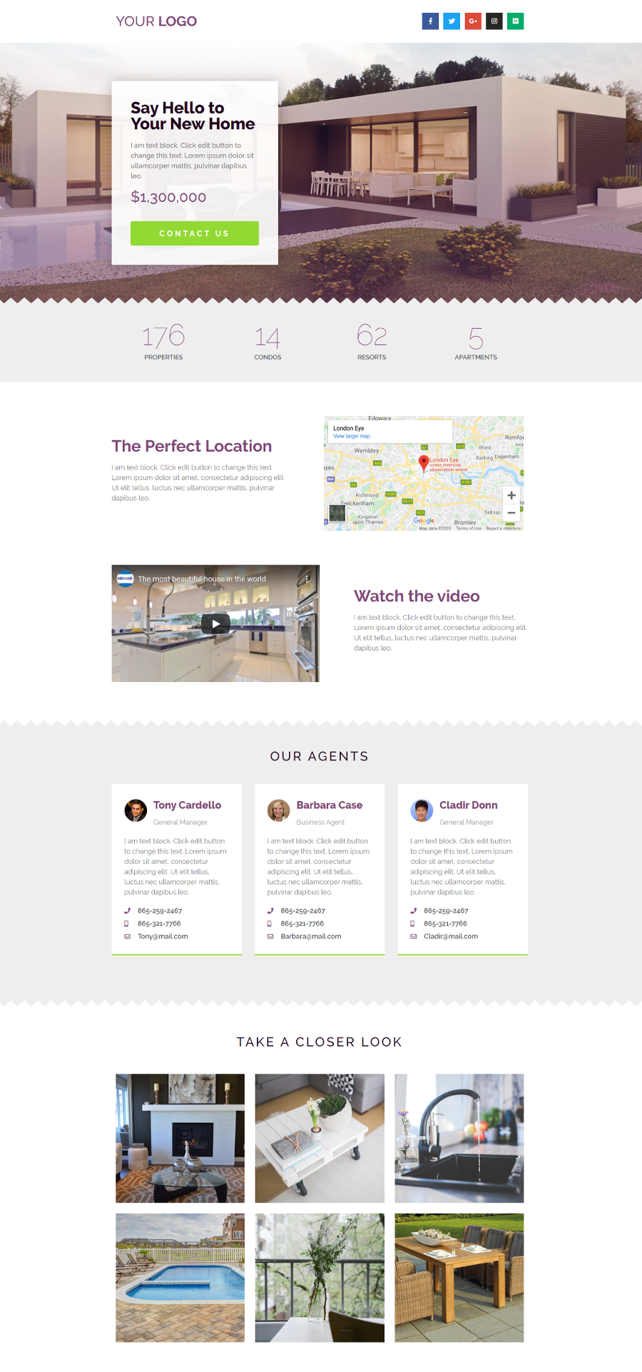 Real-Estate-Page-Template