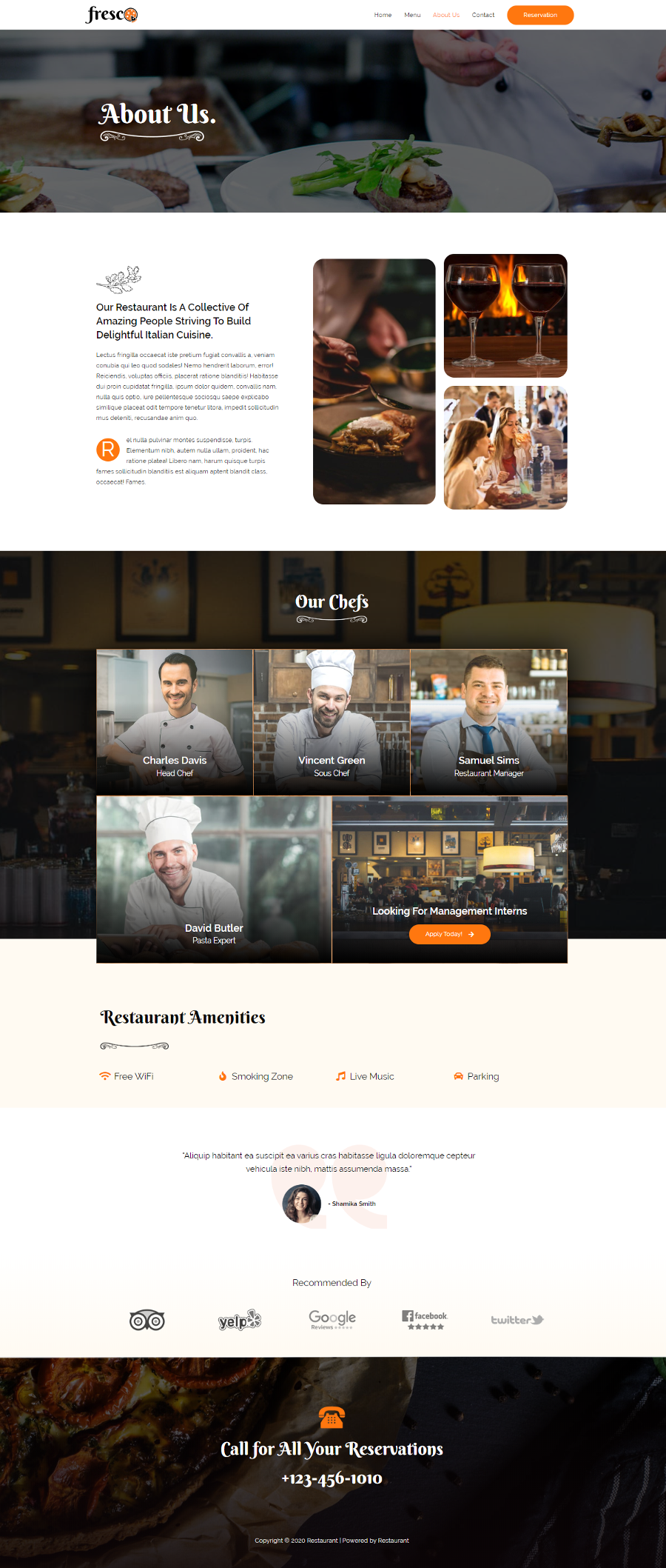 Restaurant-Website-About-Page