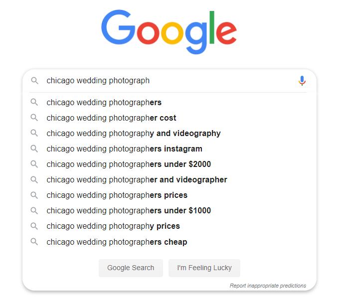 Wedding-Keywords