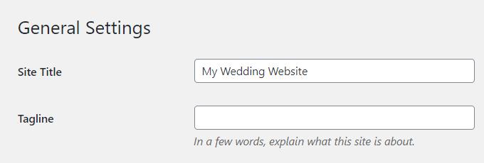 Wedding-WordPress-Title