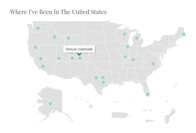WordPress-Travel-Map