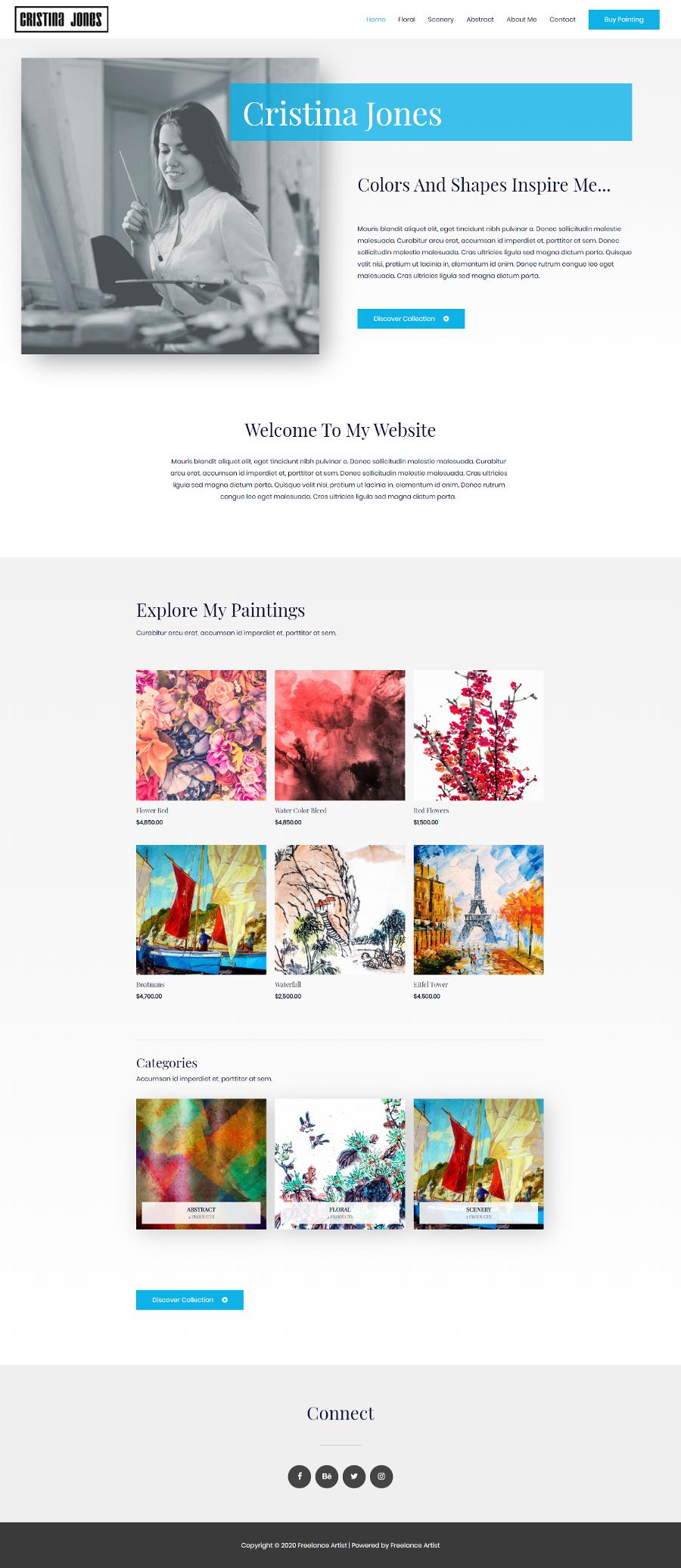 Artist-Website