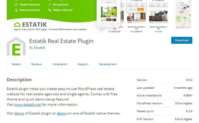 Estatik-Real-Estate-Plugin