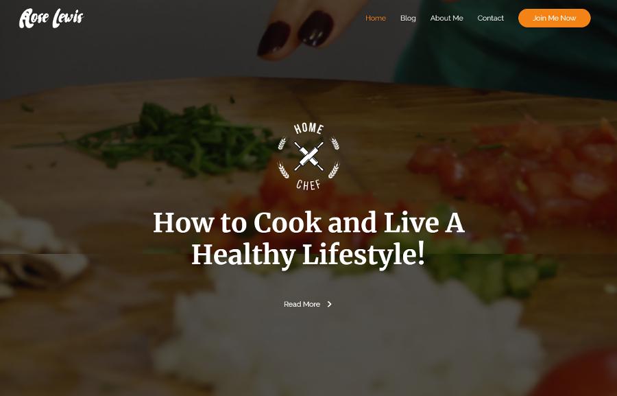 Food-Blog-Home