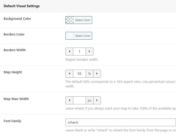 Map-Customizations