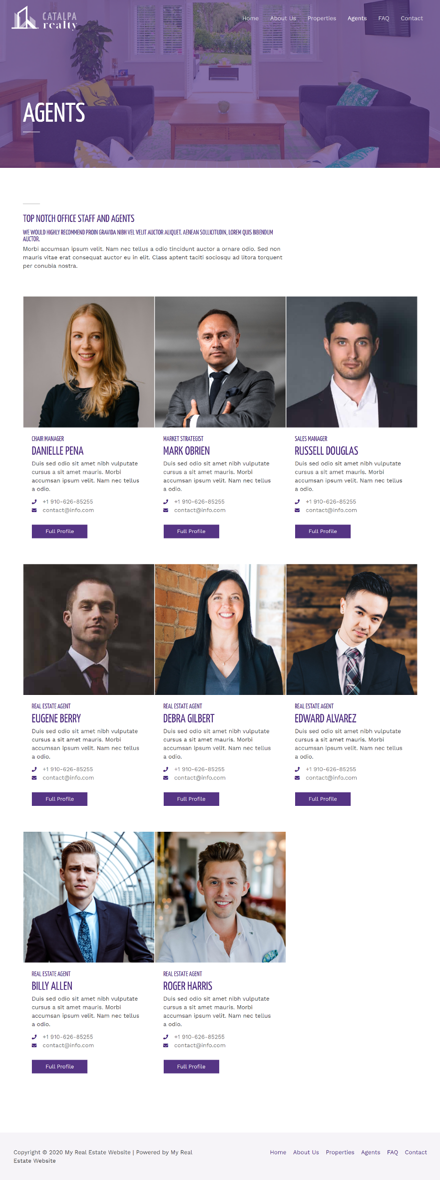 Real-Estate-Agents-Page
