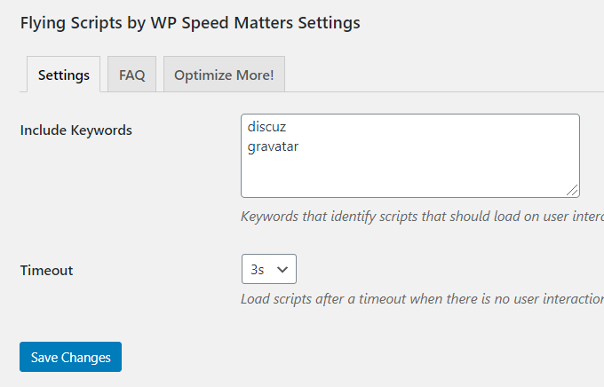 Speed-Up-Comments