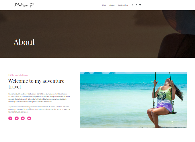 Travel-Blog-About-Page