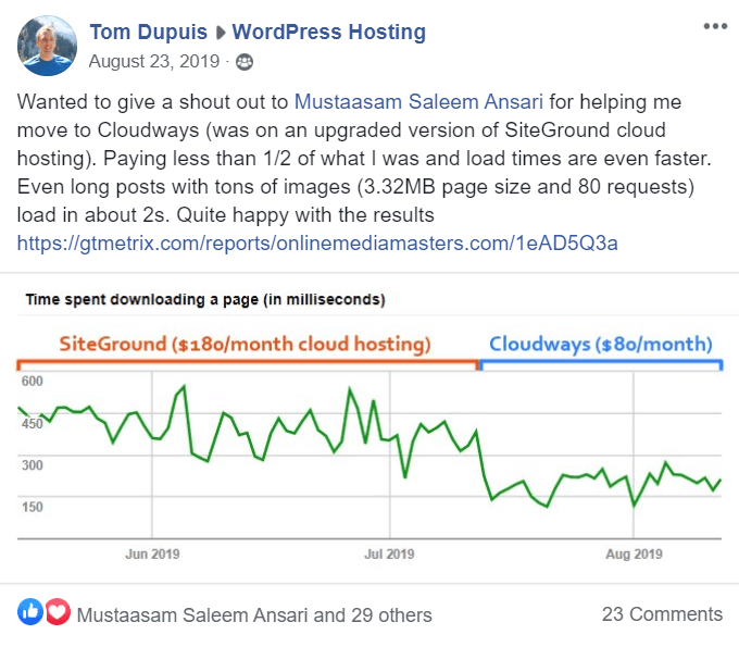 Cloudways Shoutout