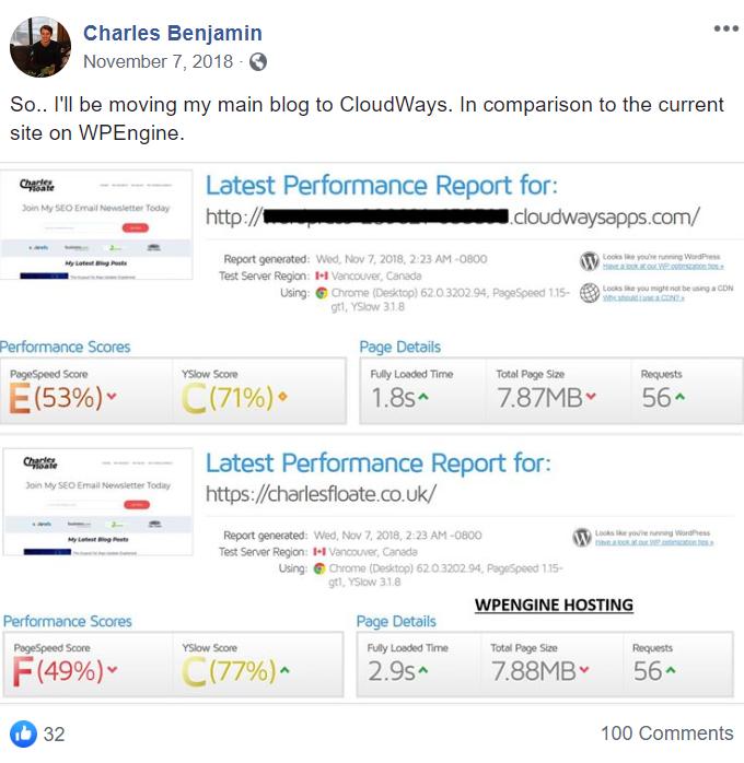 WPEngine to Cloudways Migration