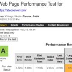 A2 Hosting WebPageTest
