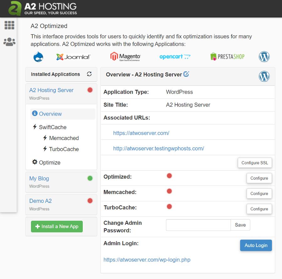 A2 Optimized Settings
