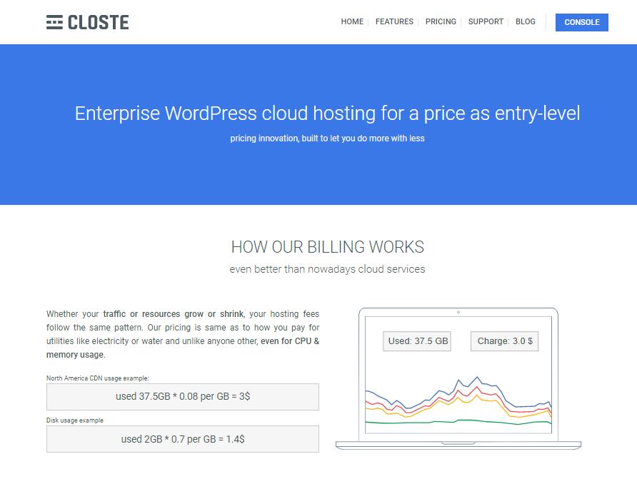 Closte-Pricing