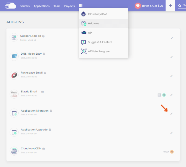 Cloudways Application Migration