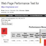 HostGator WebPageTest