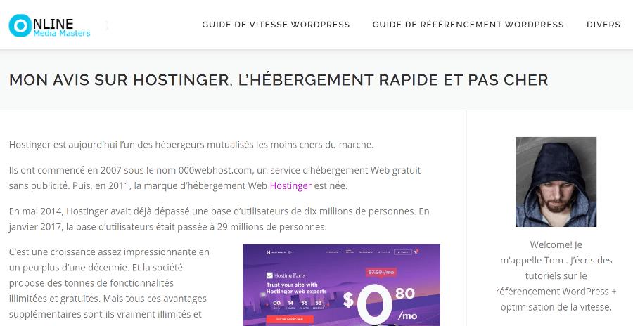 Hostinger Copied Website