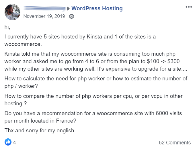 Kinsta PHP Workers Issue