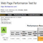 Kinsta WebPageTest Report 1