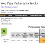 Kinsta WebPageTest Report 1