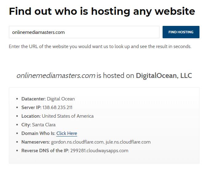 OMM on Cloudways DigitalOcean