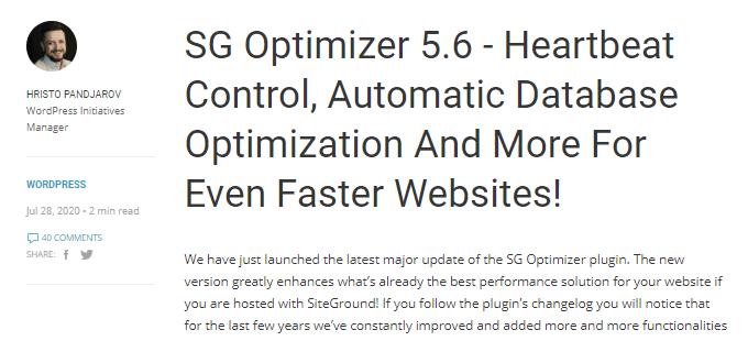SG Optimizer 5.6