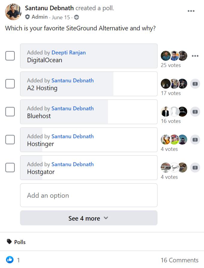 SiteGround-Alternative-Facebook-Poll