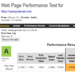 WP Engine WebPageTest Report 1