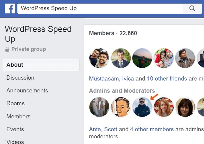 WordPress Speed Up