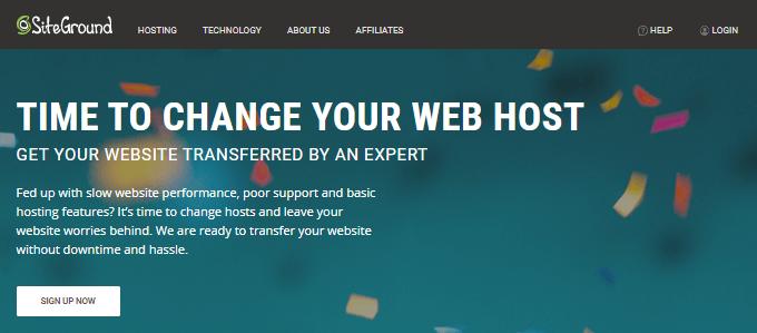 SiteGround-Website-Transfer