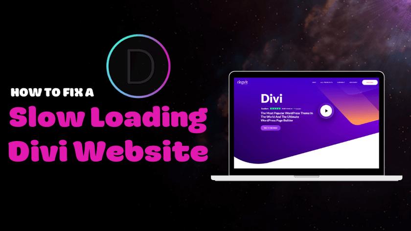 Slow-Loading-Divi-Website