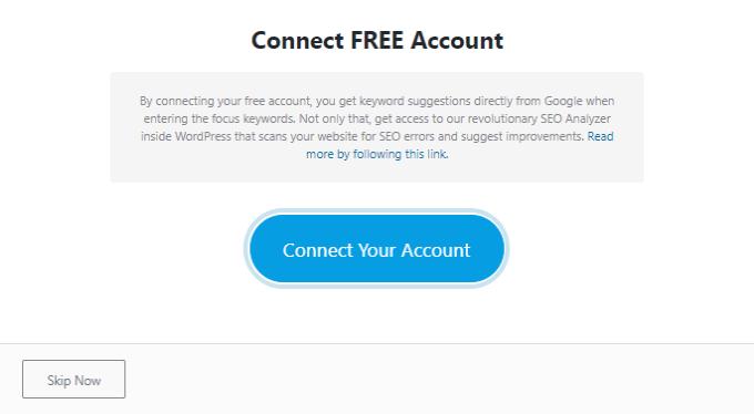 Connect-Rank-Math-Account