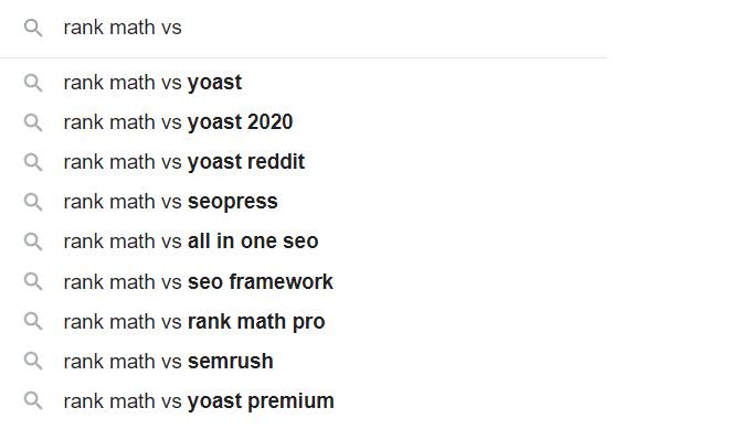 Multiple-Keywords