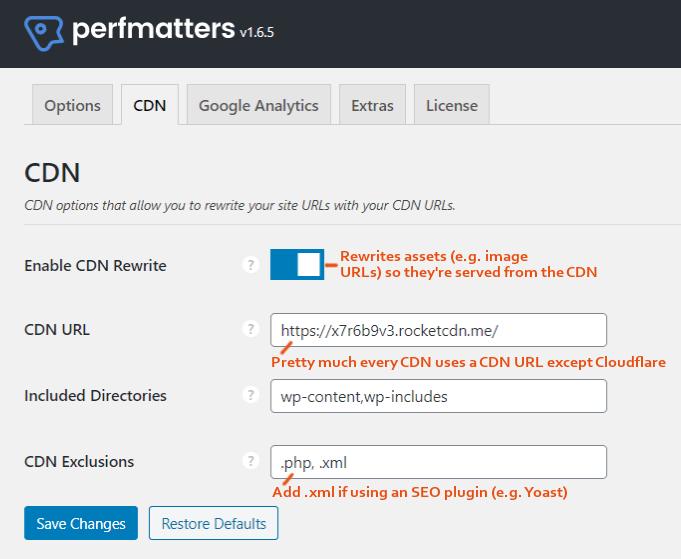 Perfmatters-CDN-Settings