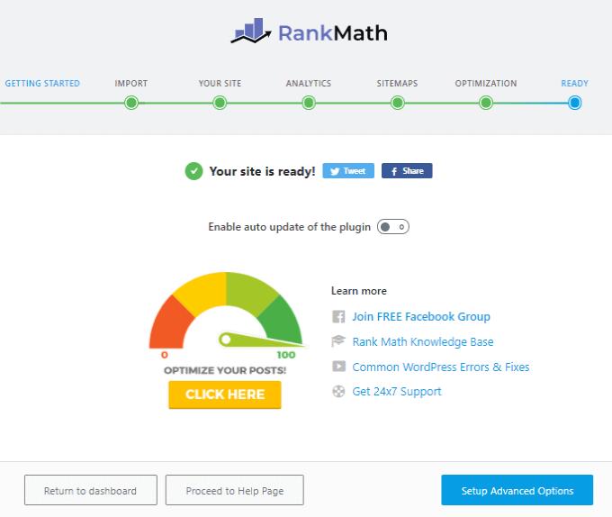 Rank Math Is Ready